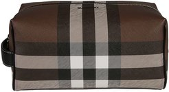Giant Check Washbag