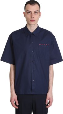 Shirt In Blue Cotton