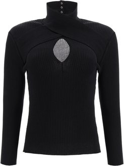 Sweater With Cut-out