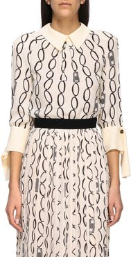 Elisabetta Franchi Shirt Elisabetta Franchi Shirt Body With Chain Print