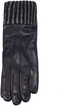 Gloves In Blue Nappa Leather
