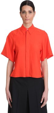 Shirt In Red Cotton
