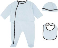 Three-piece Blue Baby Set