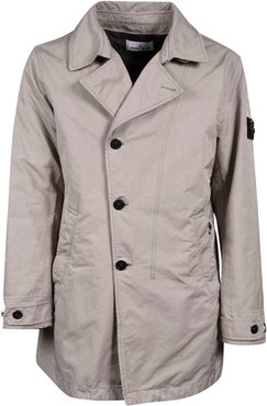 Wrapped Buttoned Jacket