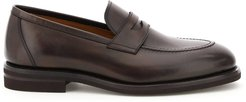 Betis Leather Penny Loafers