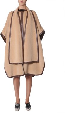 Combed Wool Cape