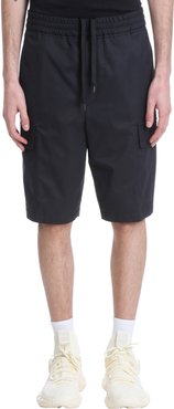 Shorts In Black Cotton