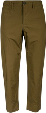 Elasticated Waist Buttoned Trousers
