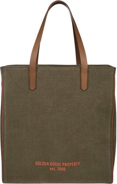 California Golden Goose Property Shopper Bag