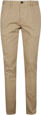 Classic Buttoned Trousers