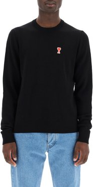 Sweater With Ami De Coeur Patch