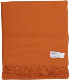 Orange Large Brushed Stole