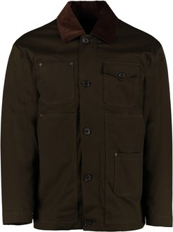 Short Coat With Removable Down