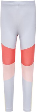 Color Block Leggings For Girl