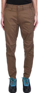 Pants In Green Synthetic Fibers