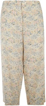 Floral Print Long Trousers