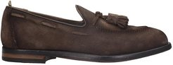 Ivy 001 Loafers In Brown Suede