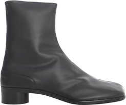 Calf Leather Tabi Ankle Boots