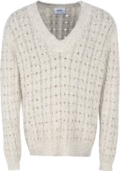 Mist Cable Knit Pullover