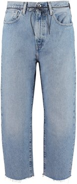 Cropped-fit Jeans