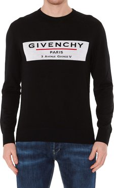 Logo Givenchy Label Sweater