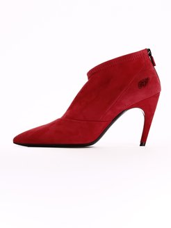 Ankle Boot Choc Real V Red