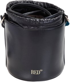 bucket bag, red,