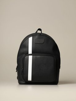 Backpack Sarkis Bally Backpack In Synthetic Leather With Trainspotting Canvas Band
