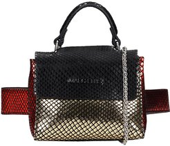 Maddison S Hand Bag In Black Synthetic Fibers