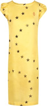 Yellow Dress For Girl With Stars