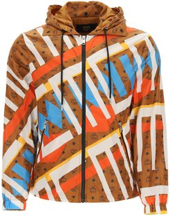 Geo Graffiti Nylon Jacket