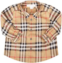 Vintage Checked Shirt For Baby Boy