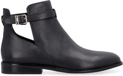 Lawson Leather Ankle Boots