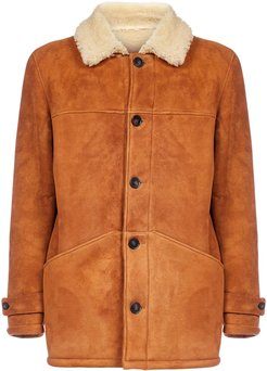 Jeff Suede And Shearling Coat