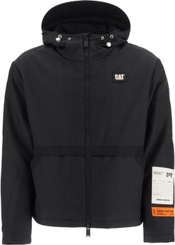 Windbreaker Jacket With Patches