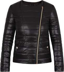 Black Jacket For Girl With Plate