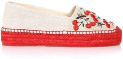 Nude & Red Kenda Espadrille In Jute