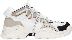 Inka Sneakers In White Synthetic Fibers