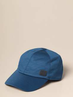 Hat Z Zegna Baseball Cap In Tech Merino Wool
