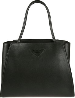 Open Top Logo Stamped Tote