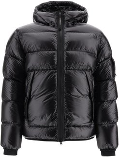 Down Jacket With Lens