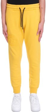 Pants In Yellow Cotton