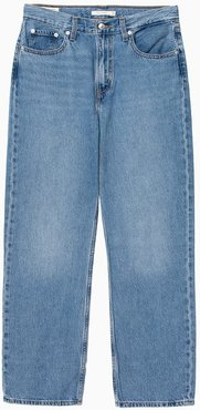 Loose Straight Jeans 17843