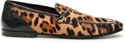 Leopard Print Erice Loafers