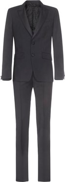 Wool And Mohair Slim-fit Tuxedo Suit