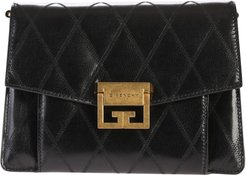 Black Small Gv3 Quilted Bag