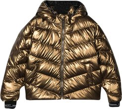 Gold Down Jacket