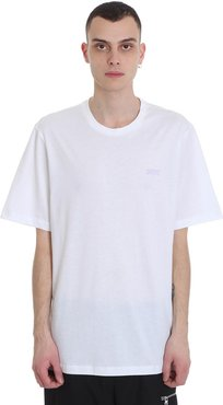 Scan T-shirt In White Cotton