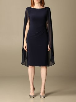 Lauren Ralph Lauren Dress Lauren Ralph Lauren Short Dress With Cape