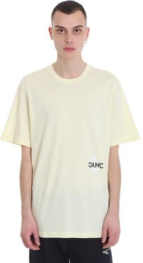 1923 T-shirt In Yellow Cotton